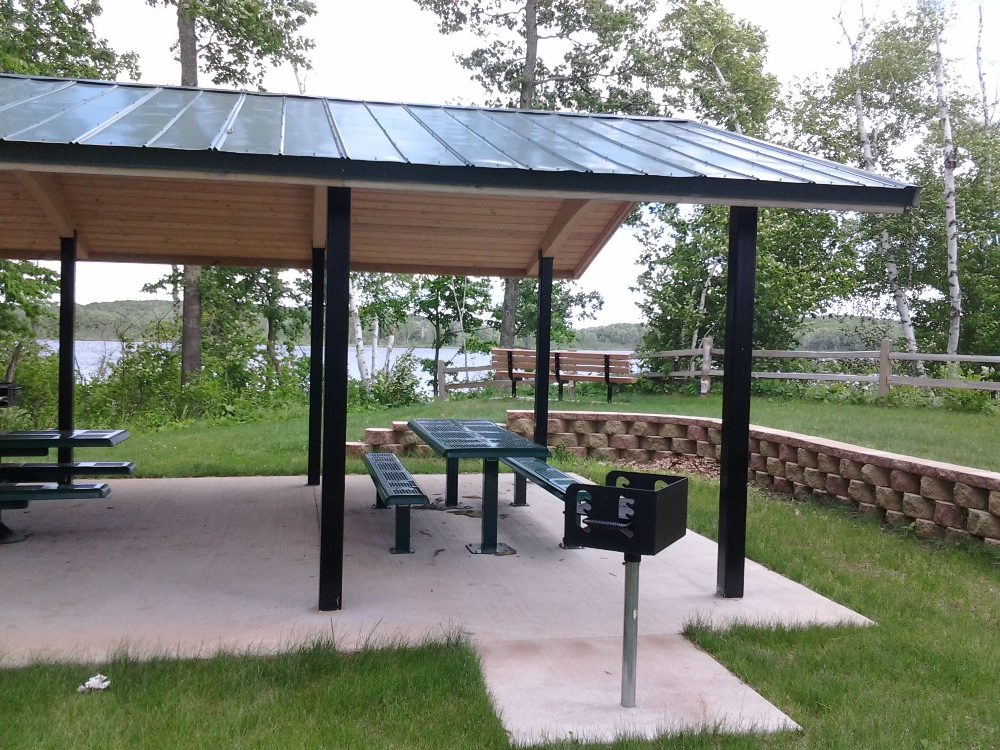 Picnic Shelter at Milford Mine Memorial Park