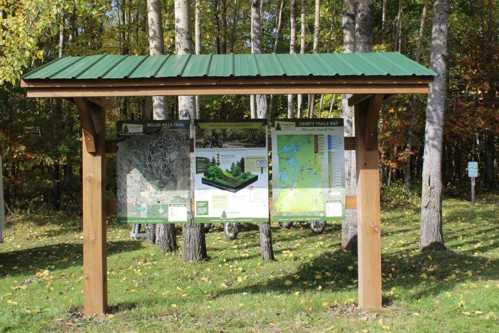 Recreation Trail Maps and Signage