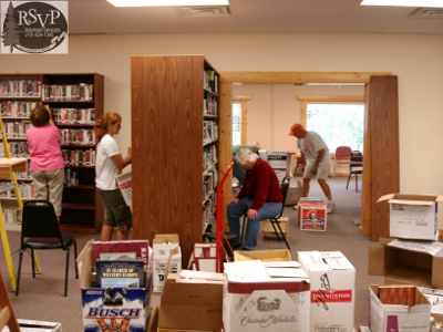 Pequot Lake Library New Location - 092309 005