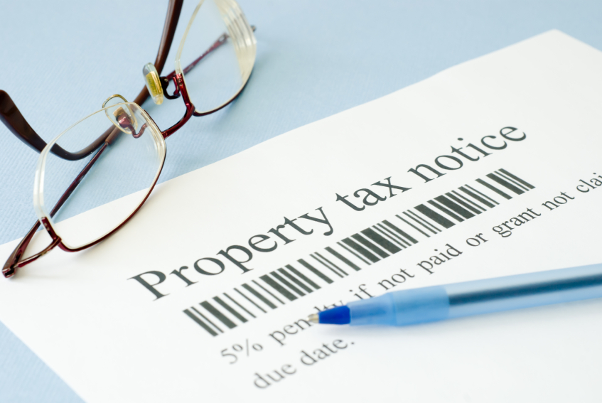property tax real estate taxes statements