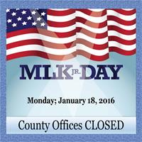 martin luther king jr day what is closed