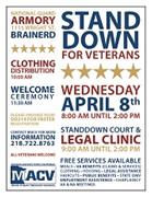 Stand Down For Veterans April 8