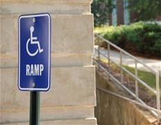 Handicap Ramp image